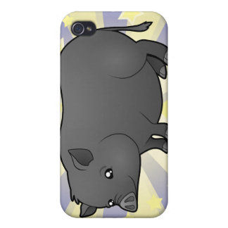 Little Star Miniature Pig iPhone 4/4S Case