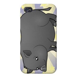 Little Star Miniature Pig iPhone 4 Case