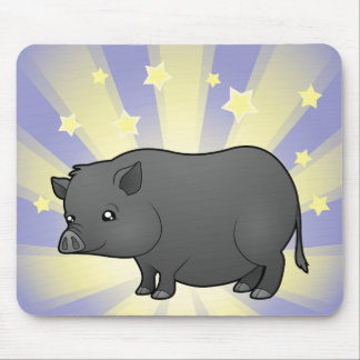 Little Star Miniature Pig Mouse Pad