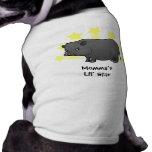 Little Star Miniature Pig Pet T Shirt
