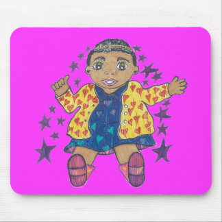 Little Star/Mylei twinkles and soars Mouse Pads