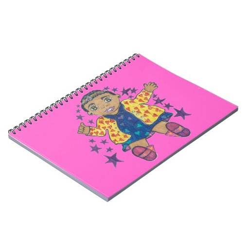 Little Star/Mylei twinkles and soars Notebook