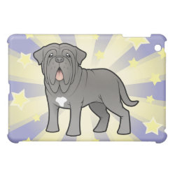 Case Savvy iPad Mini Glossy Finish Case with Mastiff Phone Cases design