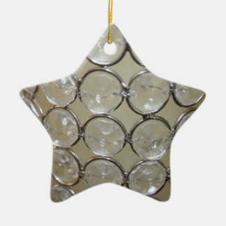 Little Star Double-Sided Star Ceramic Christmas Ornament