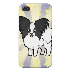 Case Savvy iPhone 4 Matte Finish Case with Papillon Phone Cases design