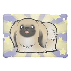 Case Savvy iPad Mini Glossy Finish Case with Pekingese Phone Cases design
