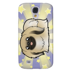 Case-Mate Barely There Samsung Galaxy S4 Case with Pekingese Phone Cases design