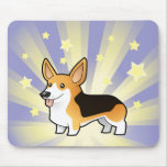 Little Star Pembroke Welsh Corgi Mousepad