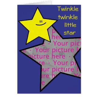 Little Star Photo Card