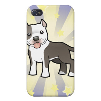 Little Star Pitbull/American Staffordshire Terrier Cover For iPhone 4