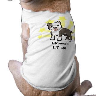 Little Star Pitbull/American Staffordshire Terrier Dog T-shirt