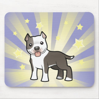 Little Star Pitbull/American Staffordshire Terrier Mouse Pad