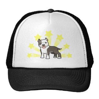 Little Star Pitbull/American Staffordshire Terrier Trucker Hat