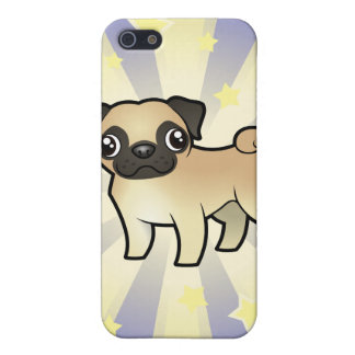 Little Star Pug Cover For iPhone SE/5/5s