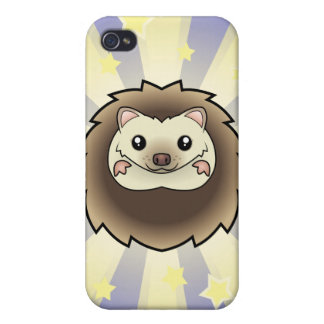 Little Star Pygmy Hedgehog iPhone 4/4S Cases