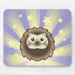 Little Star Pygmy Hedgehog Mouse Pads