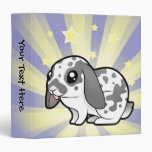 Little Star Rabbit (floppy ear smooth hair) Binders