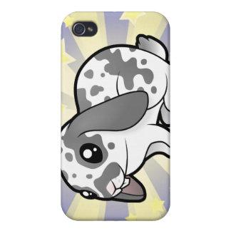 Little Star Rabbit (floppy ear smooth hair) iPhone 4 Cases