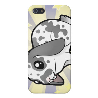 Little Star Rabbit (floppy ear smooth hair) iPhone SE/5/5s Case