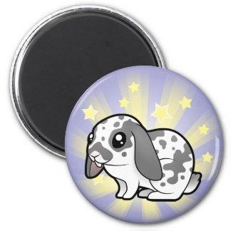 Little Star Rabbit (floppy ear smooth hair) Magnet