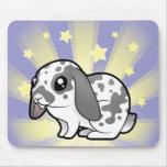Little Star Rabbit (floppy ear smooth hair) Mouse Pad
