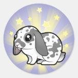Little Star Rabbit (floppy ear smooth hair) Stickers