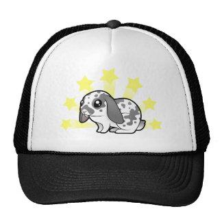 Little Star Rabbit (floppy ear smooth hair) Trucker Hat