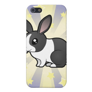 Little Star Rabbit (uppy ear smooth hair) Cover For iPhone SE/5/5s