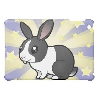 Little Star Rabbit (uppy ear smooth hair) iPad Mini Case
