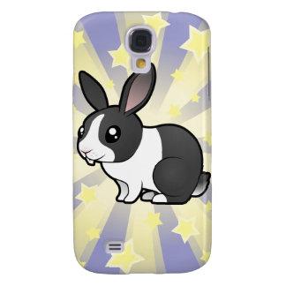 Little Star Rabbit (uppy ear smooth hair) Samsung S4 Case