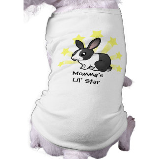 Little Star Rabbit (uppy ear smooth hair) Shirt