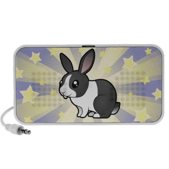 Little Star Rabbit (uppy ear smooth hair) Speaker