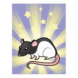 Little Star Rat Postcard