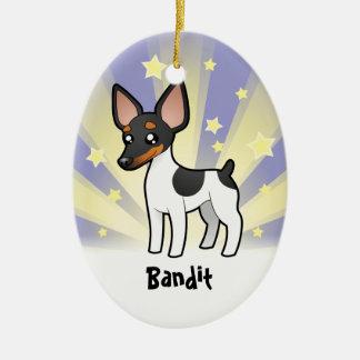 Little Star Rat Terrier / Toy Fox Terrier Ceramic Ornament