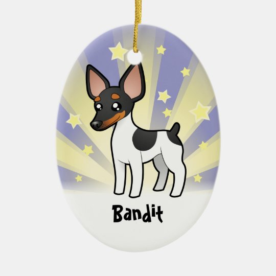Little Star Rat Terrier / Toy Fox Terrier Ceramic Ornament
