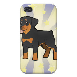 Little Star Rottweiler iPhone 4 Case