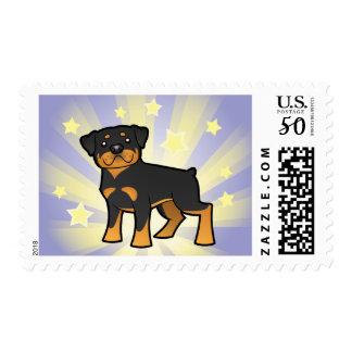 Little Star Rottweiler Postage