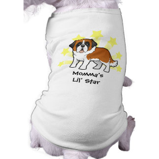 Little Star Saint Bernard Doggie Tee
