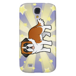 Case-Mate Barely There Samsung Galaxy S4 Case with Saint Bernard Phone Cases design