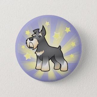 Little Star Schnauzer Button