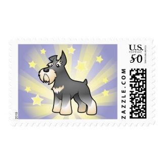 Little Star Schnauzer Postage