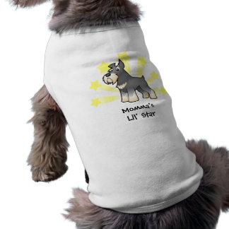 Little Star Schnauzer Shirt