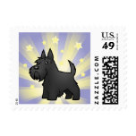 Little Star Scottish Terrier Postage