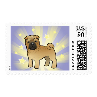 Little Star Shar Pei Postage