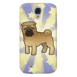 Case-Mate Barely There Samsung Galaxy S4 Case with Shar-Pei Phone Cases design