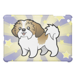 Case Savvy iPad Mini Glossy Finish Case with Shih Tzu Phone Cases design