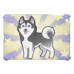 Little Star Siberian Husky / Alaskan Malamute iPad Mini Case