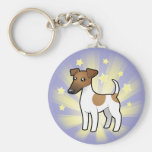 Little Star Smooth Fox Terrier Key Chain