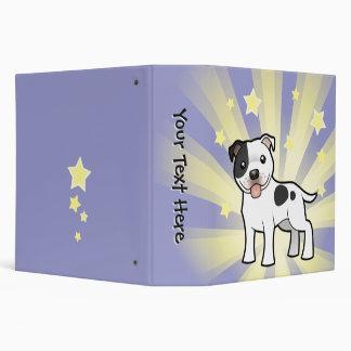 Little Star Staffordshire Bull Terrier Binder