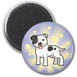 Little Star Staffordshire Bull Terrier Fridge Magnets